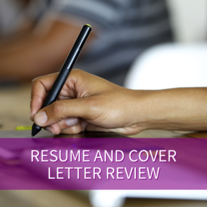 Resume and Cover Letter Review v2
